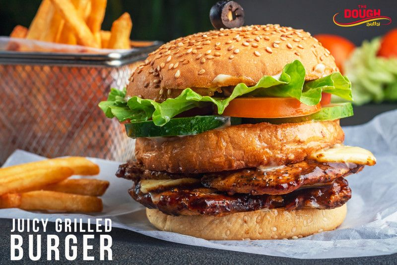 Juicy Grilled Burger