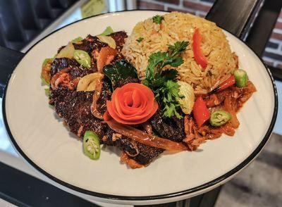 Nasi Goreng Ayam/Daging Merah