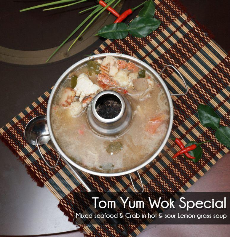 Tom Yum Wok Special Soup - Single Portion