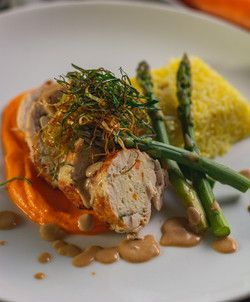 Stuffed Australian Chicken Roulade