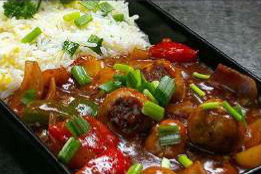 Chicken Manchurian Rice
