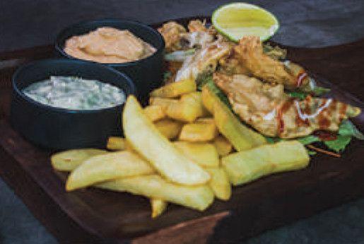 Crunchy Fish N' Chips