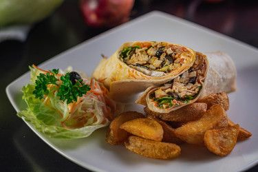 Italian Chicken Wrap