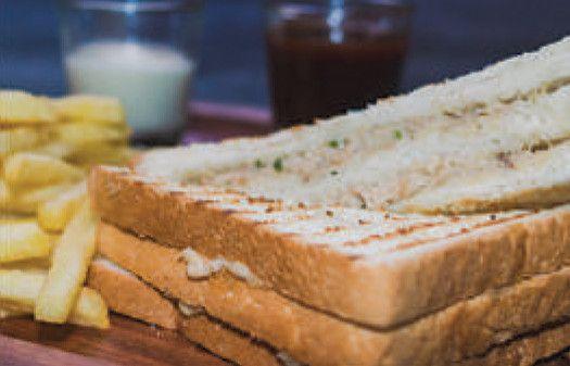 Pita Pan Sandwich of your choice -Tuna