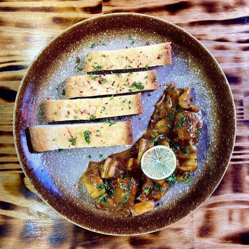 Spicy Cuttle Fish Curry