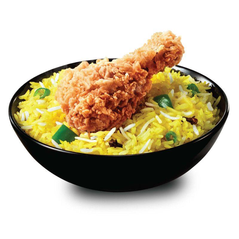Rice Hot & Crispy Chicken