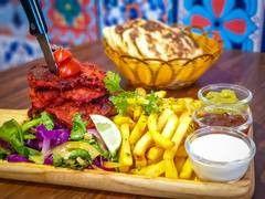 Tandoori Chicken Shawarma