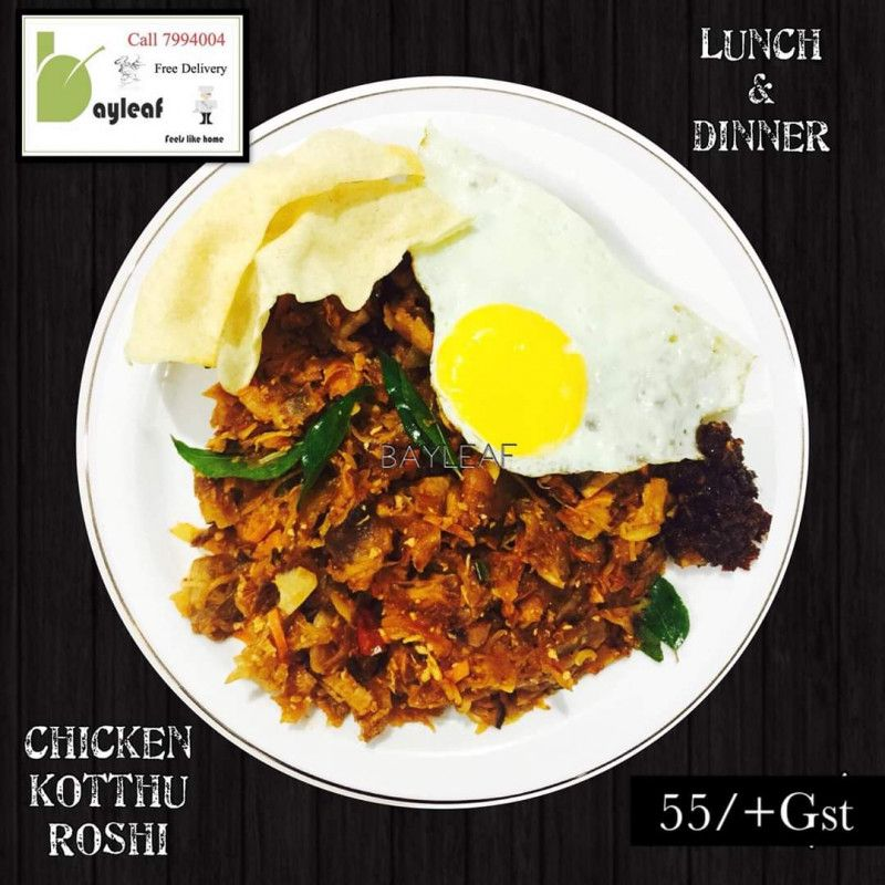 Chicken Kotthu Roshi