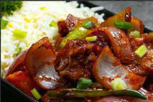Devilled Fish Rice
