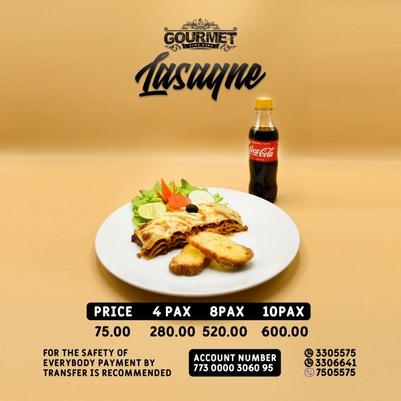 Lasagna (8PAX)
