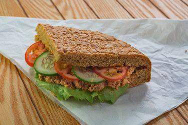 Tuna Baguette sandwich