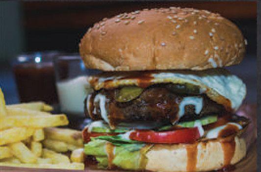 Pita Pan Beef Burger