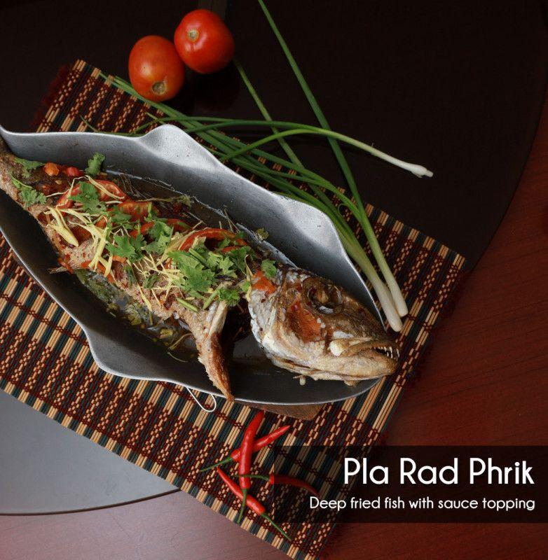 Pla Rad Phrik - Single Portion