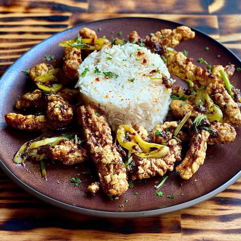 Hot Butter Cuttle fish