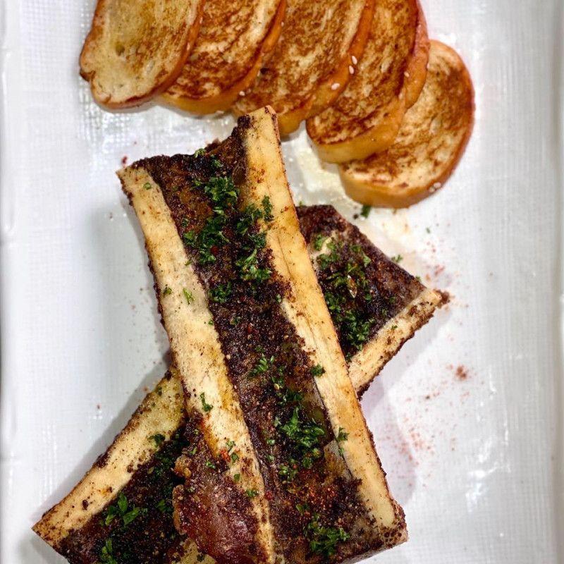 Bone Marrow with Bread