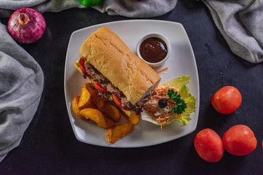 Australian Wagyu Beef Steak Sandwich