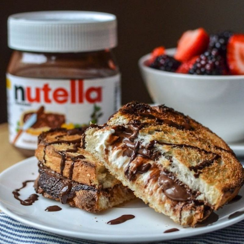 Cheese Neutella Sandwich