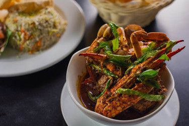 Sri lankan Style Crab Black curry