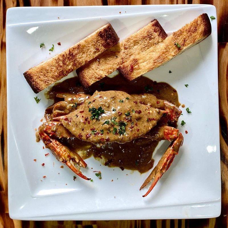 Jaffa Spice Crab Curry