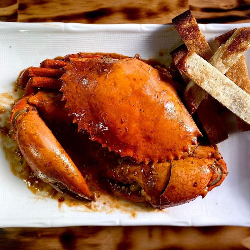Singapore Style Crab Curry Large