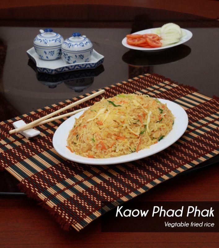 Kaow Phad Phak Rice - Single Portion