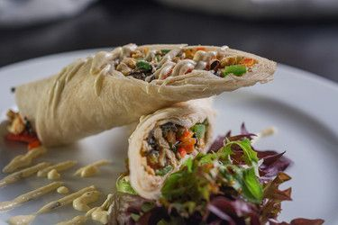 City Greek Wrap