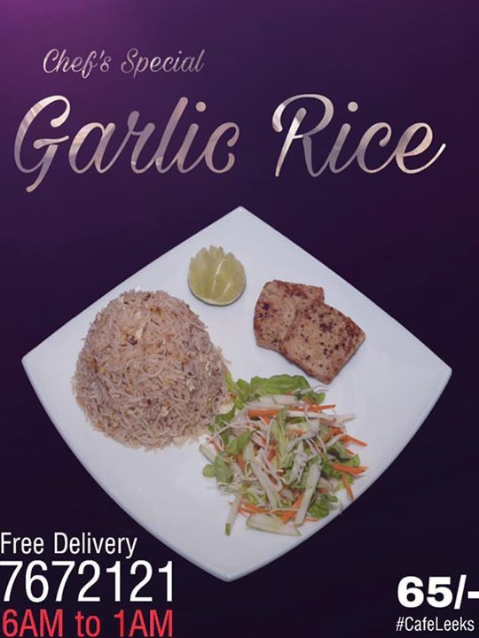 Chef's Special Garlic Rice