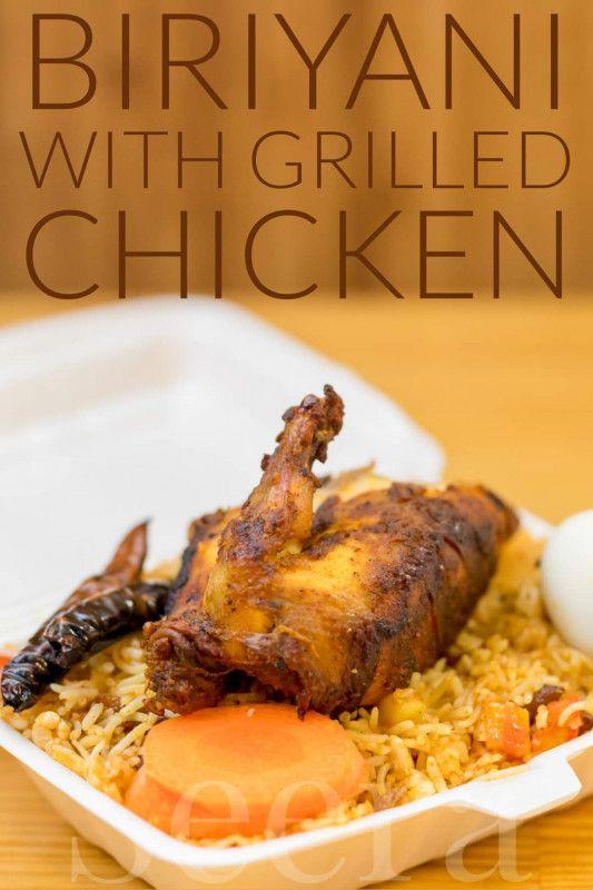 Chicken Biriyani with Grilled Chicken