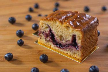 Cake Blueberry Slice