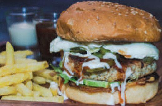 Pita Pan Chicken Burger