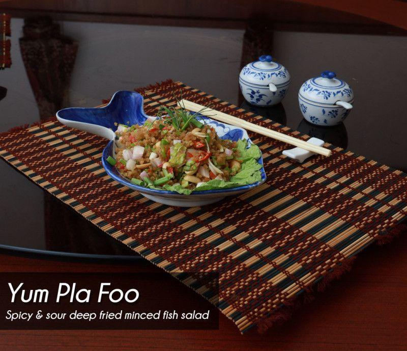 Yum Pla Foo Salad - Single Portion