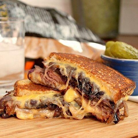 Beef & Cheese Sandwich
