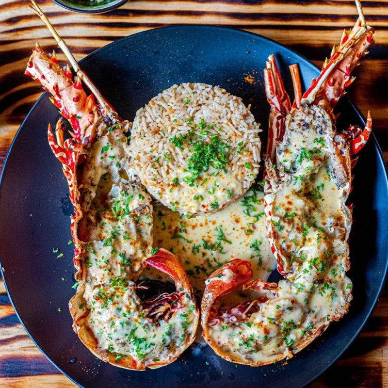Cheesy Lobsters
