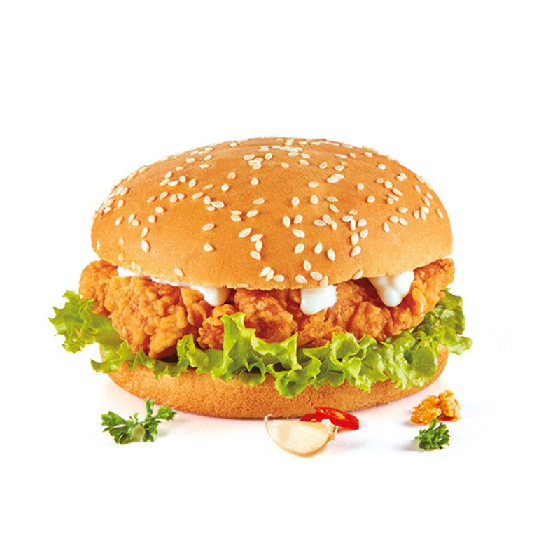 Zinger with double cheese