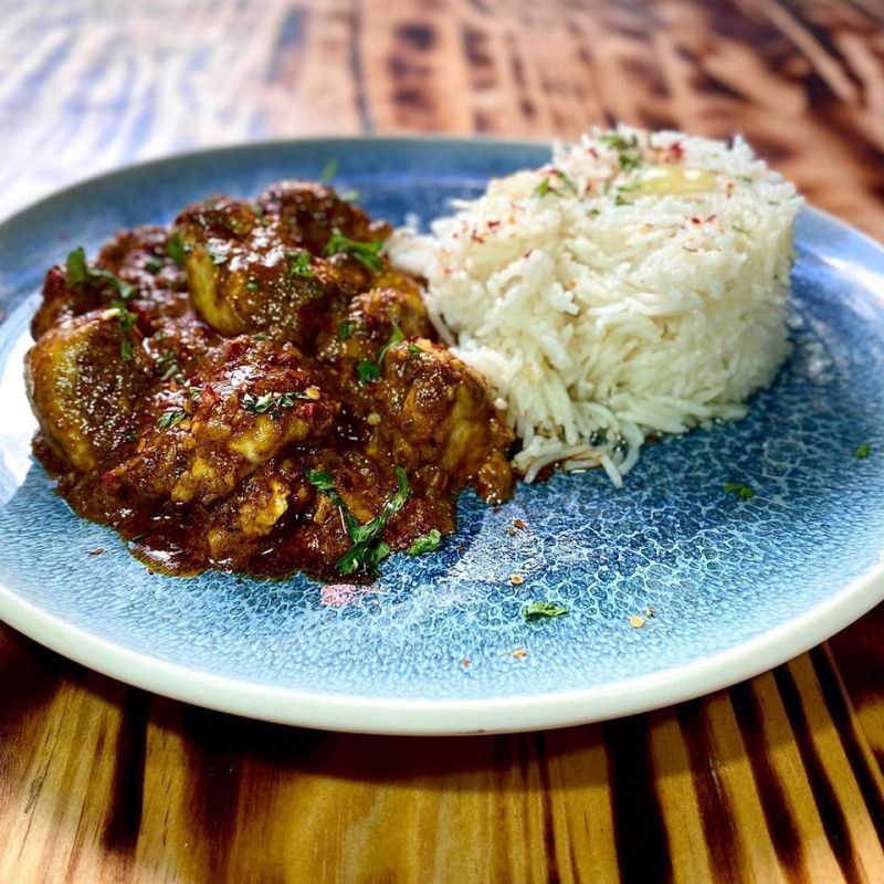 Spicy Beef Brain Curry